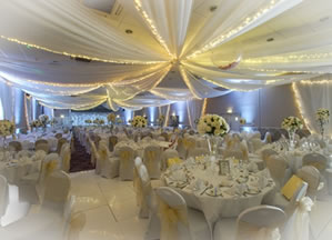 Wedding decorations reception decorators venue decorators draping ceiling wall junglespirit Image collections